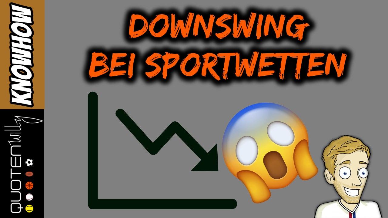 Downswing bei Sportwetten
